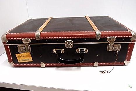 Maleta con diseño de maletas de viaje beibye pieza de equipaje de madera de la vaina de decorativa de la caja: Amazon.es: Hogar