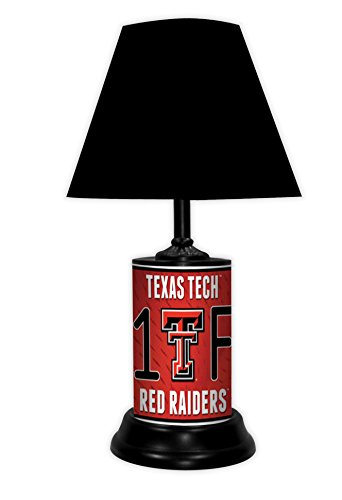 TEXAS TECH RED RAIDERS NCAA LAMP - BY TAGZ SPORTS