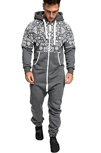 populäres Design ganz nett Farbbrillanz Amaci&Sons Herren Norweger Overall Jumpsuit Onesie Jogging Sportanzug  Trainingsanzug Jogginganzug 3009