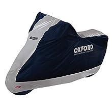 Oxford 2016 Vadeador Motocicleta Funda Impermeable, XL