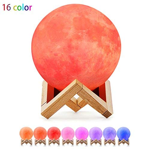 Night Light, Peboxing Moon lamp 5.9 inch with