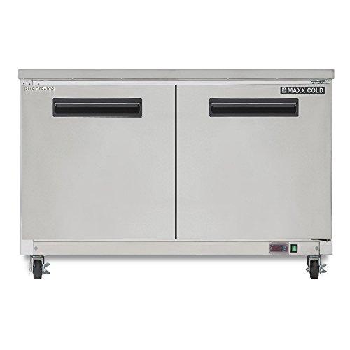 Undercounter Cf Refrigerator - Maxx Cold MXCR48UX Two Door 48