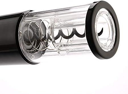 Eurobuy Abridor Eléctrico Abridor Automático de Sacacorchos de Botellas con Cortador de Papel Mango Aerodinámico Cómodo Y con Ahorro de Trabajo para Abrir La Botella para La Cocina Casera