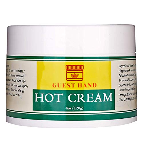 Hot Cream Recovery Treatment - Men Women Workout Enhancer Muscle Relax Pain Relief Skin Tighten Joint Care - 4oz