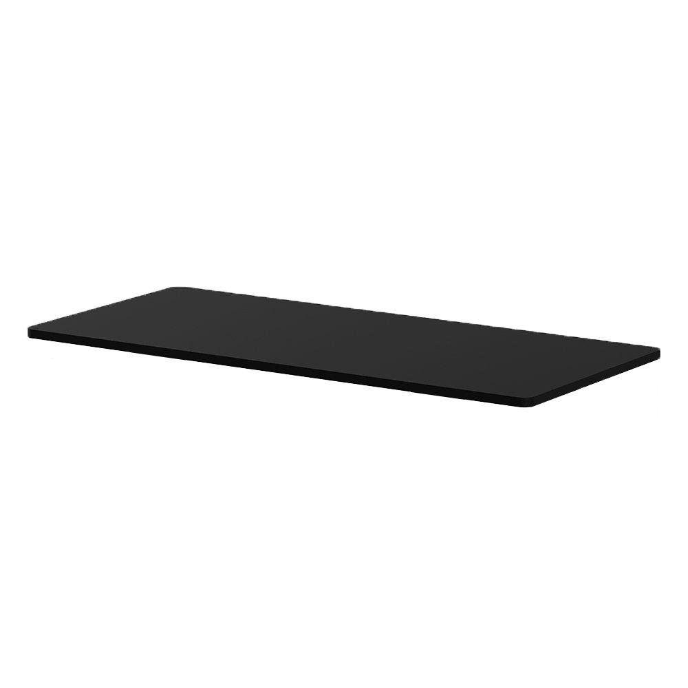 Clevr Electric Stand Upデスクフレームワークステーション、シングルモーター人間工学Standing高さ調整可能ベース、フレーム:ブラック/ホワイト/グレー、デスクトップ:ブラック/ホワイト Top Only ブラック  Top Only - Black B078T3GKN7