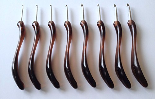 Crochet Hooks Different Stitches Aluminum