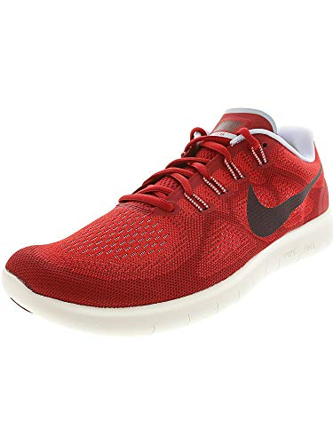 Nike Free RN 2017 Mens Running Trainers 880839 Sneakers Shoes (UK 9 US 10 EU 44, University red Port Wine 602)