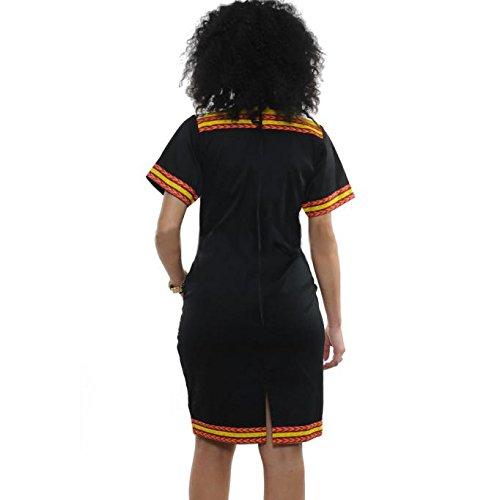 Black Party Fashion Haoricu Women's Dress 4A6qnzwYF