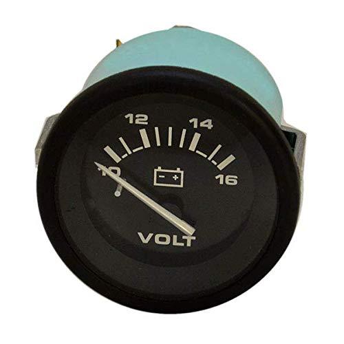 Teleflex Boat Volt Gauge 59643 | Hurricane 2 Inch Black
