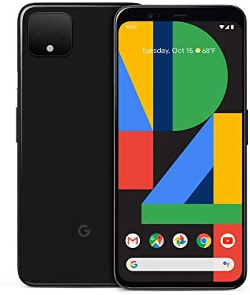 Google Pixel 4 XL - Just Black - 64GB - Unlocked (Renewed)