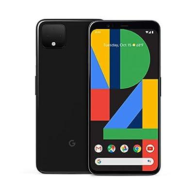 Google Pixel 4 XL – Just Black – 128GB – Unlocked (Renewed)