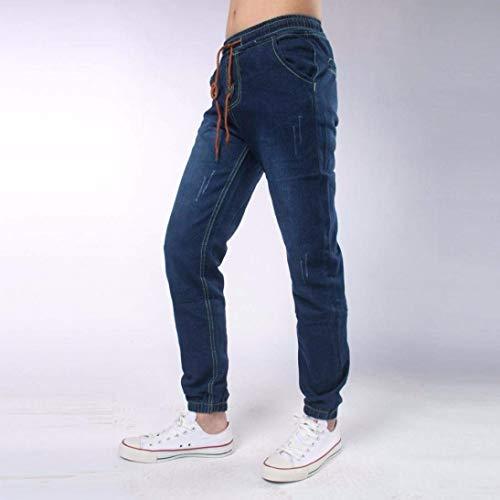 I Pantaloni Uomini Dei Di Modo Arrivo Jeans Degli Disegno Denim Estilo Tiefesblau Especial Nuovo Nuovi Del Comodi rwTYZSqrx