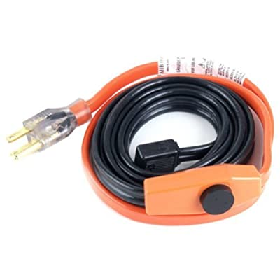 Easy Heat 013 3 Foot Water Pipe Freeze Protection Heating Cable Heat Tape Kit