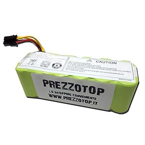 prezzotop® Batería prima incluido para robot aspiradora Ariete ...