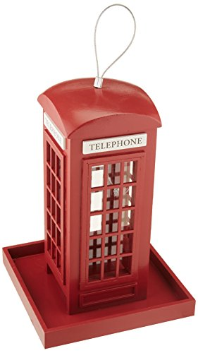 Home Bazaar Telephone Booth Feeder ()