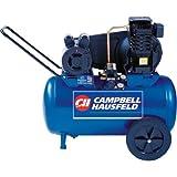 20 gallon portable air compressor - Campbell Hausfeld Air Compressor, 20-Gallon Horizontal Portable Single-Stage 5.5CFM 2HP 120/240V 1PH (VT6290)