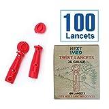 Next Level Med Diabetes Testing Kit | Includes 100