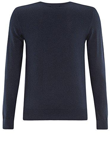 Basic Maglione Ultra Blu Con Girocollo 7900m Uomo Oodji tzU1qwz