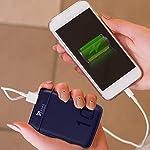 Syska 10000 mAh Li-Polymer P1016B Power Pocket100 Power Bank (Blue)