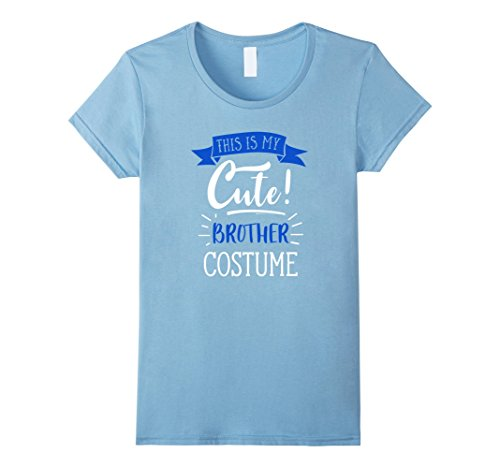 Womens Funny Halloween Costume For Kids - Cute Brother T-Shirt Medium Baby (Blues Brothers Costume Female)