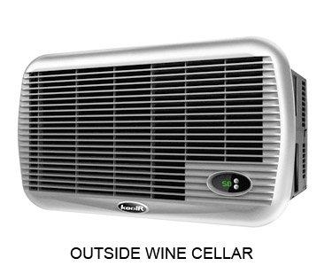 Koolspace koolR PLUS Wine Cellar Cooling Unit - 600 Cu. Ft.
