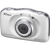 Câmera Nikon À Prova D'água Wifi Coolpix W150 Branca