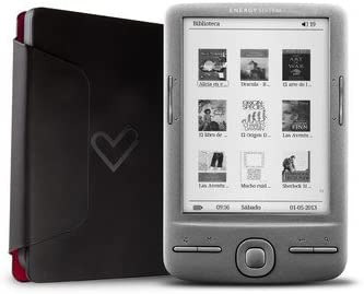 Energy Sistem eReader e4 Mini 4GB Gris lectore de e-Book: Amazon ...