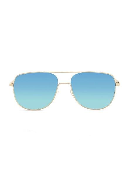 KOALA BAY Gafas de Sol Key West Oro Mate Lentes Azul