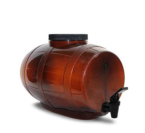 Mr. Beer 2 Gallon Little Brown Keg Beer Making Fermenter Designed for Home Brewing
