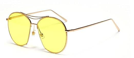 GCR Occhiali Da Sole Ombra Polarizzante Occhiali Sunglasses Occhiali Da Sole Assetto Irregolare Telaio Materiali: Metallo , D