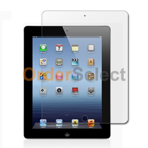 FYL Clear LCD Screen Shield Protector for Apple iPad 3 3rd Generation Tablet ()