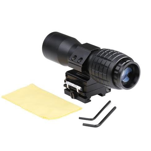 New 4X Magnifier FTS Flip to Side for Eotech Aimpoint or Similar Scopes Sights