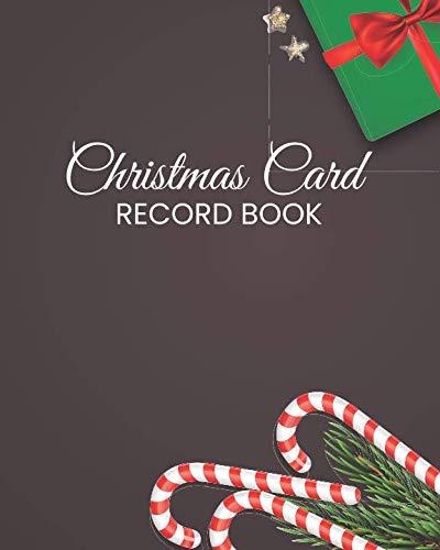 (Christmas Card Record Book: Address Book For Christmas Cards (Send & Receive)(V5))