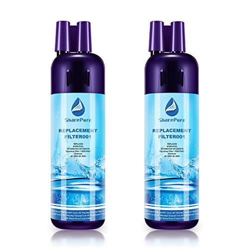 SharePure Kenmore 9081 9930 Replacement Refrigerator Water Filter Compatible with 469930 46-9930 Kenmore 469081 9930 –  2 PCS
