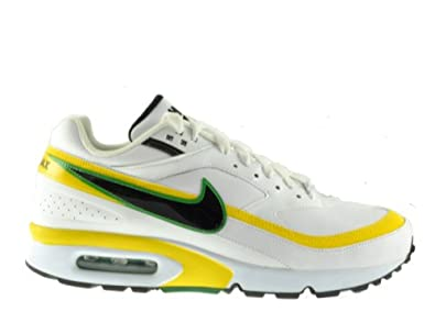 quality design 10ef1 9a8ba Nike Air Max Classic BW Trainers - White Yellow Black Green - 9.5 UK