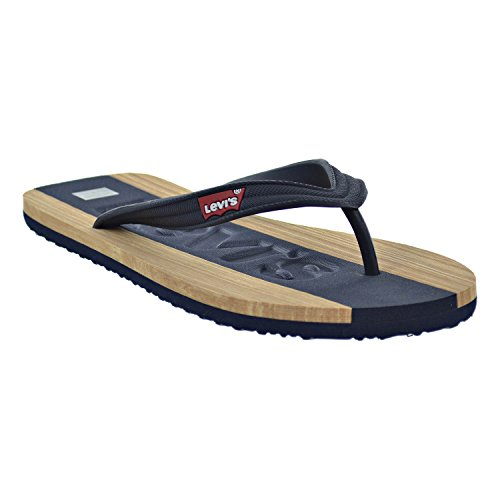 Levi's Jayden Men's Sandals Shoes 516443-72U Size 10 D(M) US Men D (Standard Width) Navy/Tan