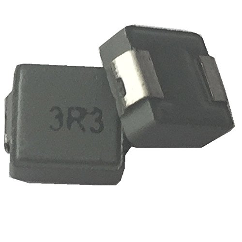 50ea 3.3uH fixed Shielded Wirewound inductor transformer 6X6X3mm surface mount