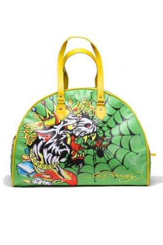 4646ca7e3a07 Ed Hardy Handle Bag KING WOLF