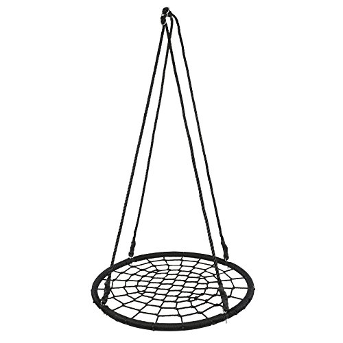 "BBBuy Web Tree Swing, 40"" Tire Spider Web Swing, 71"", used for sale  Delivered anywhere in USA"