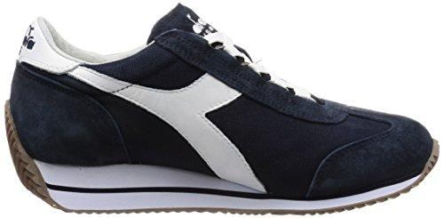 Blu HH Sw Suede Equipe W Grigio Heritage Diadora Donna Canvas Bianco Sneakers wXvRHH