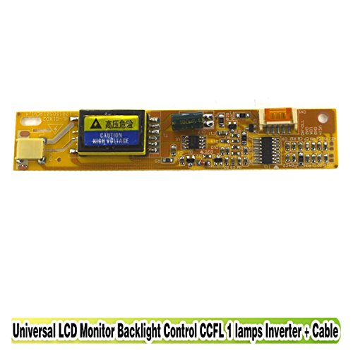 Eztronics Corp® 1 Lamp CCFL Backlight LCD Inverter Board Universal For LCD Controller to Display Panel