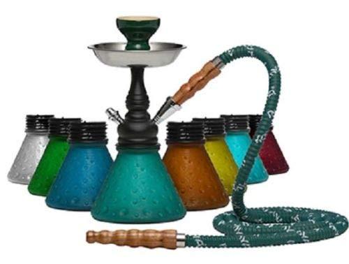 MYA CHIKITA Original Hookah Shisha Nargila Glass Bong Pipe Set Ship Free...