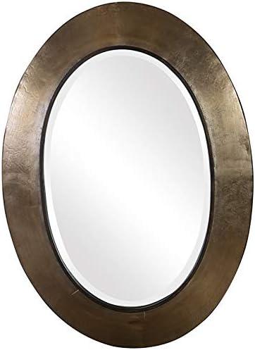 Uttermost Kayenta Mirror in Antique Silver Champagne