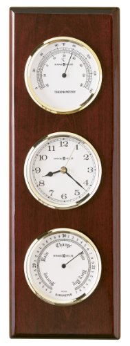 Shore Station Clock - Howard Miller 625-249 Shore Station Weather & Maritime Wall Clock by