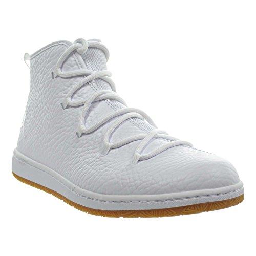 Jordan Galaxy Herenschoenen Wit / Wit / Gom Lichtbruin 820255-102