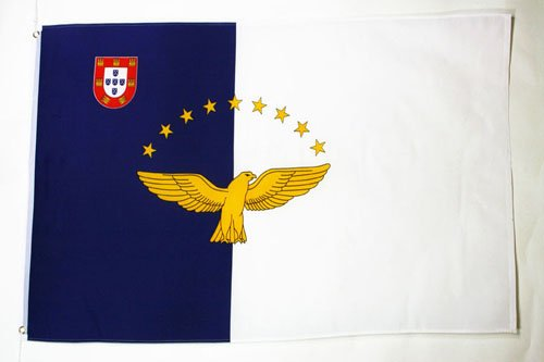 AZ FLAG Azores Flag 3' x 5' - Portugal - Azorean Flags 90 x 150 cm - Banner 3x5 ft ()