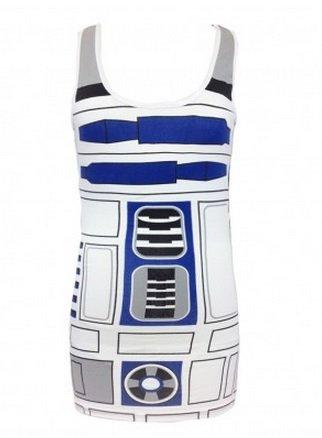 Star Wars R2-D2 Womens Tank Top