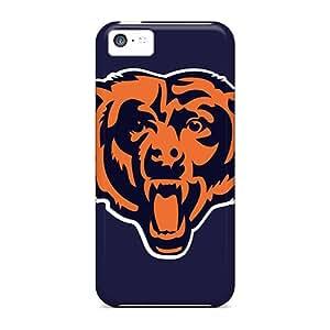 AshtonWells Apple Iphone 5c Durable Hard Phone Cover Support Personal Customs Trendy Chicago Bears Series [eZb30148uorn]