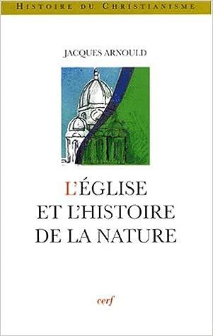 Livres gratuits L'Eglise et l'histoire de la nature pdf