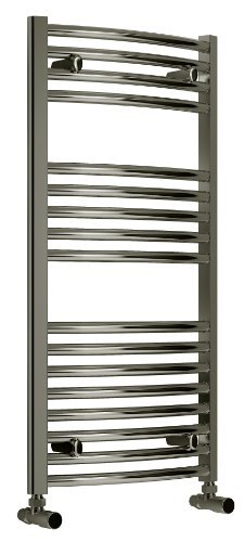 D3 Designer Curved Heated Towel Rail 1200mm high 600mm wide...